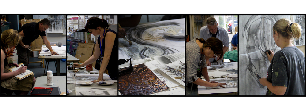 Mitchell-Armstrong art education workshops