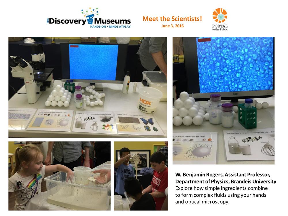 W. Benjamin Rogers | Meet the Scientists! | The Discovery Museums