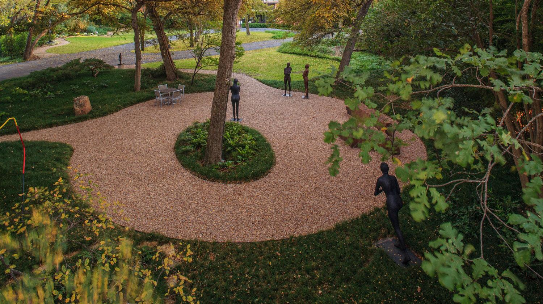 Valley House Sculpture Garden — Studio Outside Landscape Architects