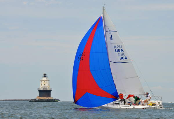 Lewes Yacht Club sailing team