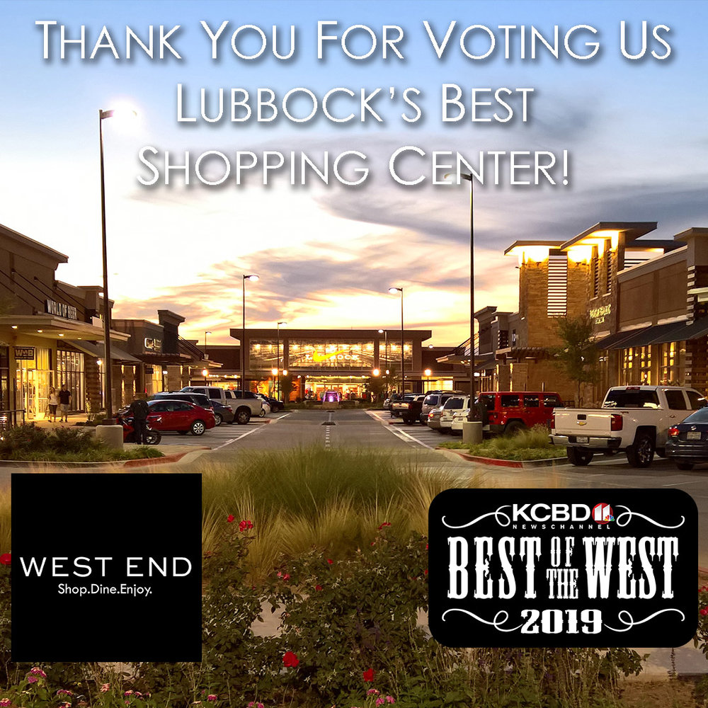 5f6dc67388a Thank You for Voting West End Center Best Shopping Center! — GRACO ...
