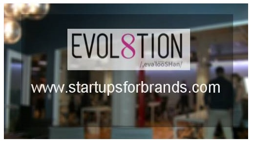 EVOL8TION    We connect leading brands with early stage startups to provide technology solutions to business challenges.   FOR MORE INFORMATION:   CLICK HERE    COMPANY PROMO FOR Cre8 EVENT:   CLICK HERE