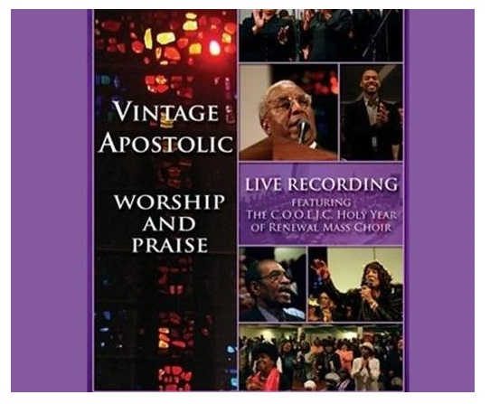 VINTAGE APOSTOLIC DVD Commissioned by the late Bishop William L. Bonner, Bishop James I. Clark Jr., and the Board of Apostles of The Church of our Lord Jesus Christ, Inc. this project culminated in a LIVE recording at the Greater Refuge Temple Church of our Lord Jesus Christ in NY, NY. ON SALE NOW! Approximate Running Time: 120 minutes DVD (2 discs) $22.99 TO PURCHASE: CLICK HERE DVD TRAILER: CLICK HERE