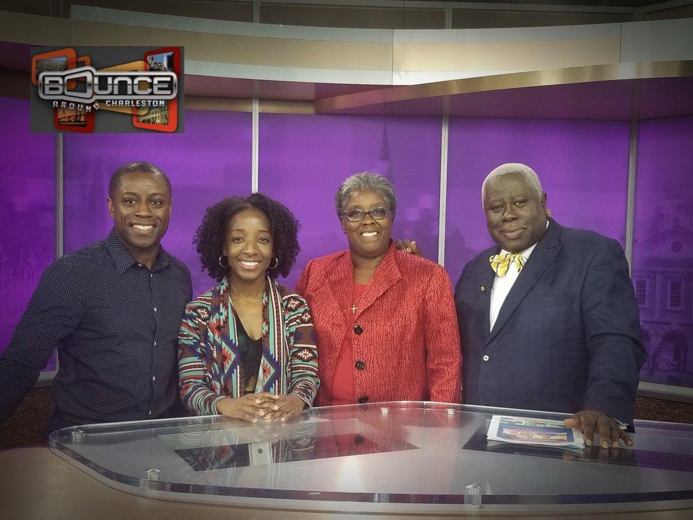 BOUNCE AROUND CHARLESTON  WCSC-TV 5 (Interview 0:01-5:07)
