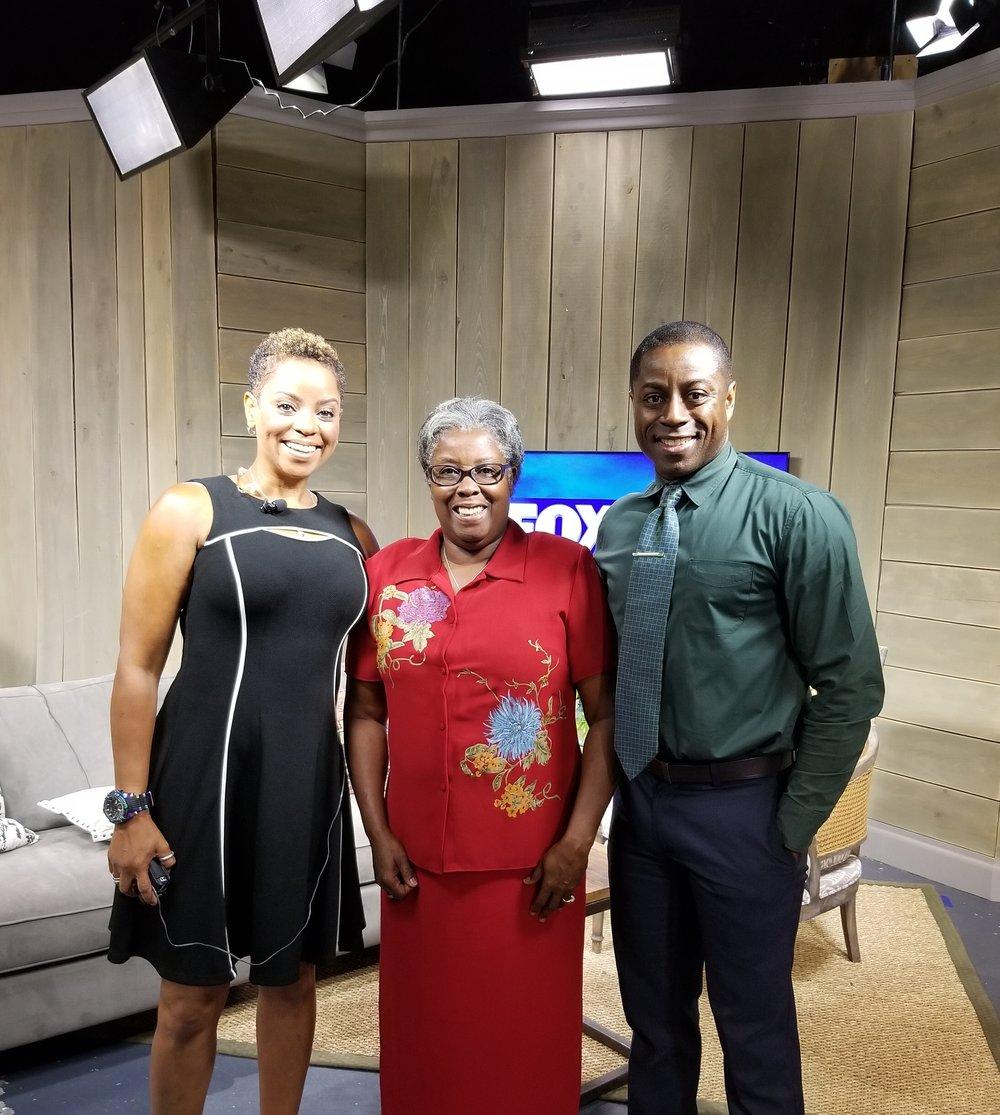 FOX 24 MORNING NEWS  CHARLESTON Interview (0:01-2:52)