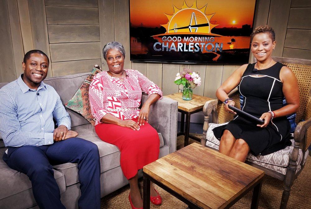 GOOD MORNING CHARLESTON  WCIV NEWS 4 CHARLESTON (Interview 0:01-3:46)