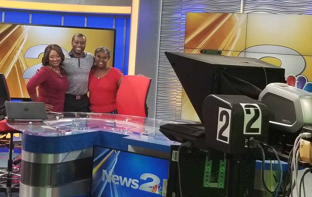 NBC 2 MIDDAY SHOW  CHARLESTON (Interview 0:01- 3:13)