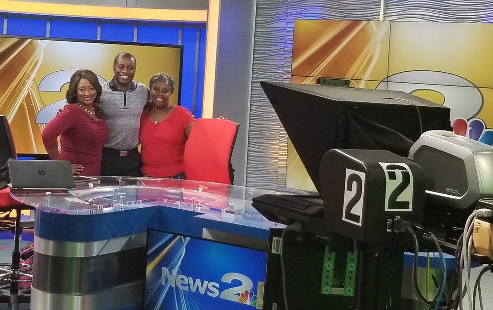 NBC 2 MIDDAY SHOW  CHARLESTON (Interview 0:01- 3:13)