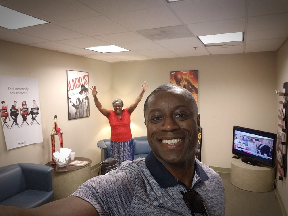 NBC 2 MIDDAY SHOW CHARLESTON Excited in Green Room for first LIVE interview!