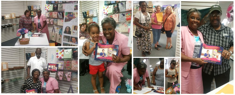 June 20, 2018- First Official Book Signing Event At Agape Christian Bookstore