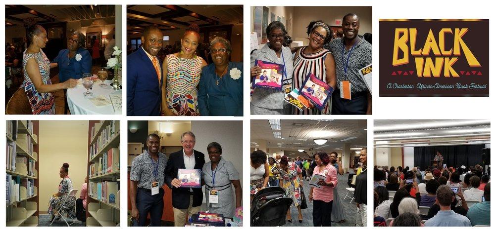 Sept. 8, 2018 - Black Ink Festival Charleston, SC with keynote speaker Author Terry McMillan