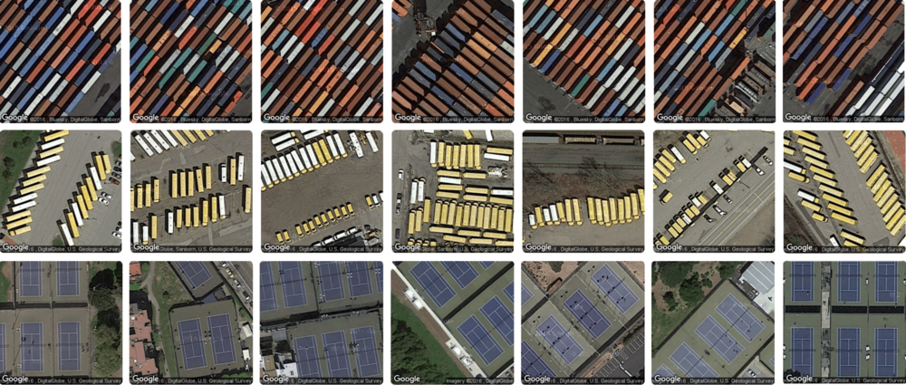 Terrapattern A machine-learning based visual search tool for satellite imagery. UX/UI Design | Web Development | Data Collection | Mapping | Machine Learning