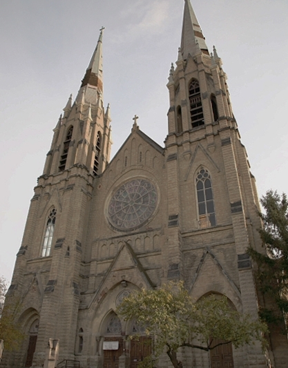 St. Peter and Paul's Church Façade, Pittsburgh, PA