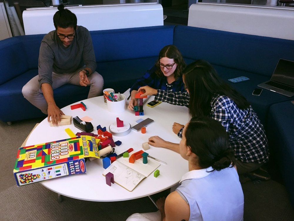 Using simple objects to brainstorm design ideas