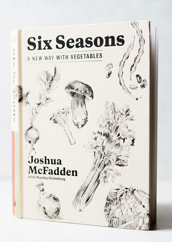 This cookbook  Six Seasons  looks as beautiful as the recipes sound. It's definitely on my gift list!