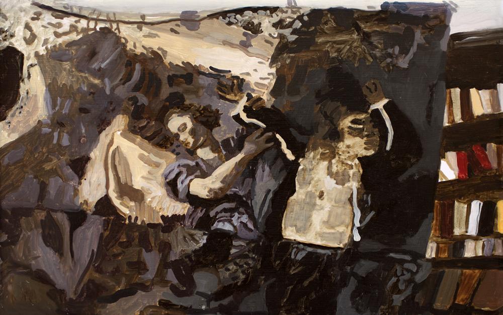 "Painting, study, 11x15"", 2014"