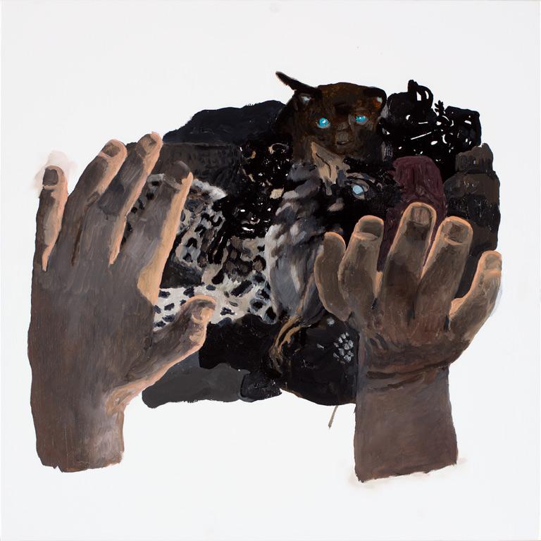 "I healed the little animals, 24x24"", 2014"