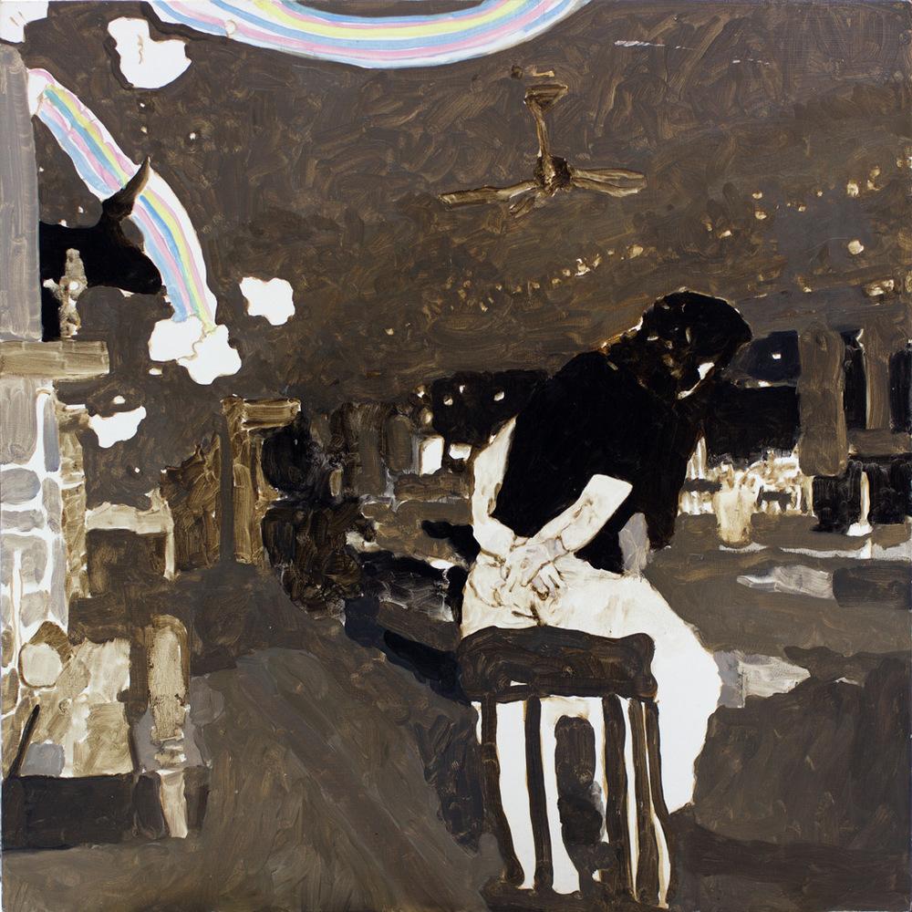 """At the Matador, 24x24"""", 2006"""