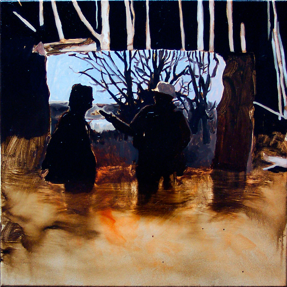 "The Protest, 24x24"", 2005"