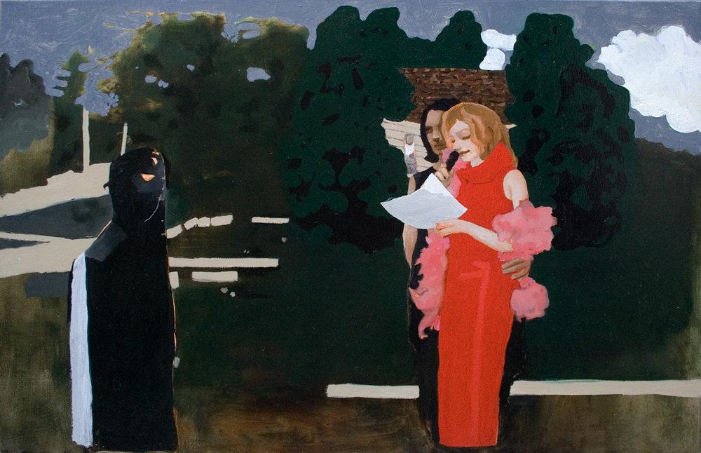 "Teenager Hamlet, 24x36"", 2005"