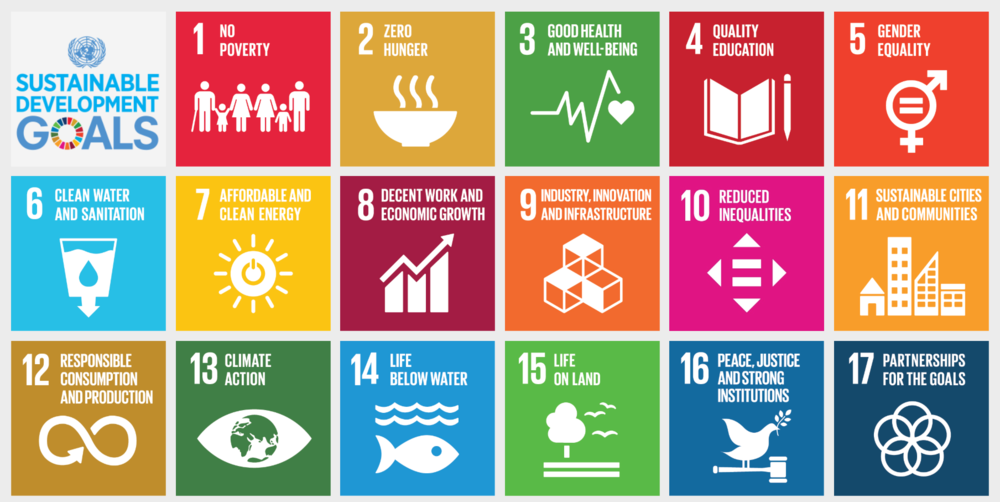 We are tackling all 17 of the United Nations sustainable development goals