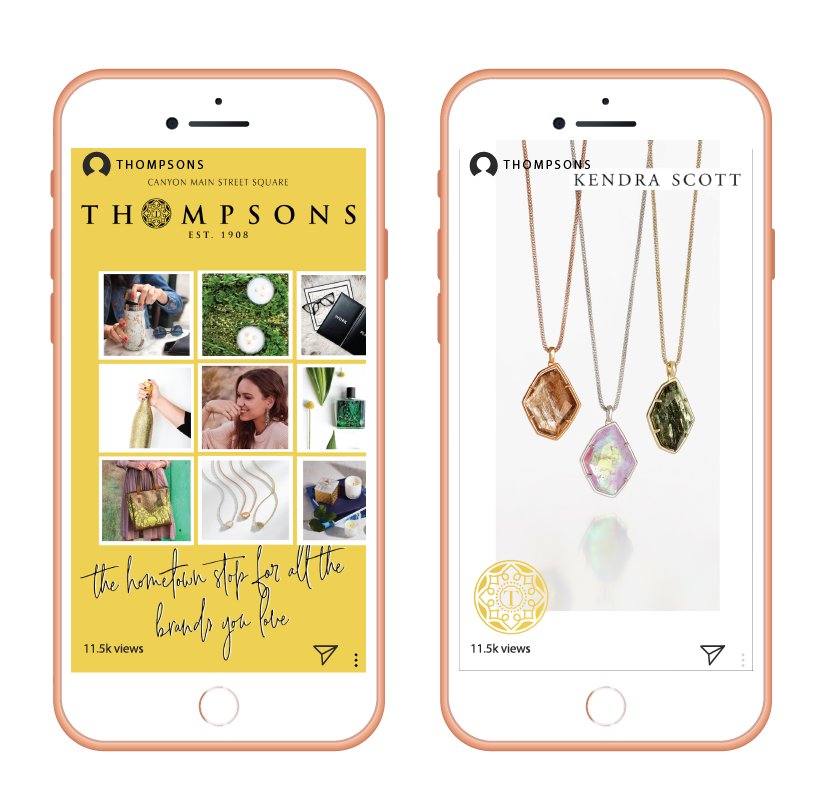 Kendra Scott Thompsons Social