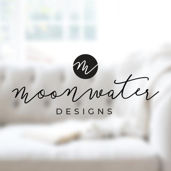 MOONWATER DESIGNS  | BRAND DEVELOPMENT, WEBSITE DESIGN + DEVELOPMENT, BRANDED PRODUCTS + PACKAGE DESIGN, SOCIAL STYLING
