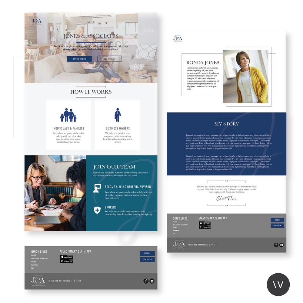 RONDA JONES  | WEBSITE DESIGN + DEVELOPMENT