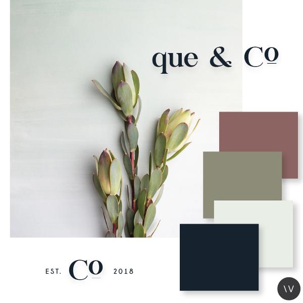 QUE & CO  | BRANDING, WEBSITE DESIGN + DEVELOPMENT (LAUNCHING SOON)