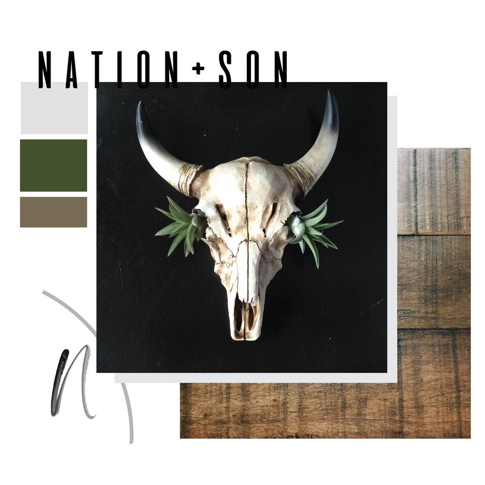 NATION/SON  | BRANDING, WEBSITE DESIGN + DEVELOPMENT (LAUNCHING SOON)
