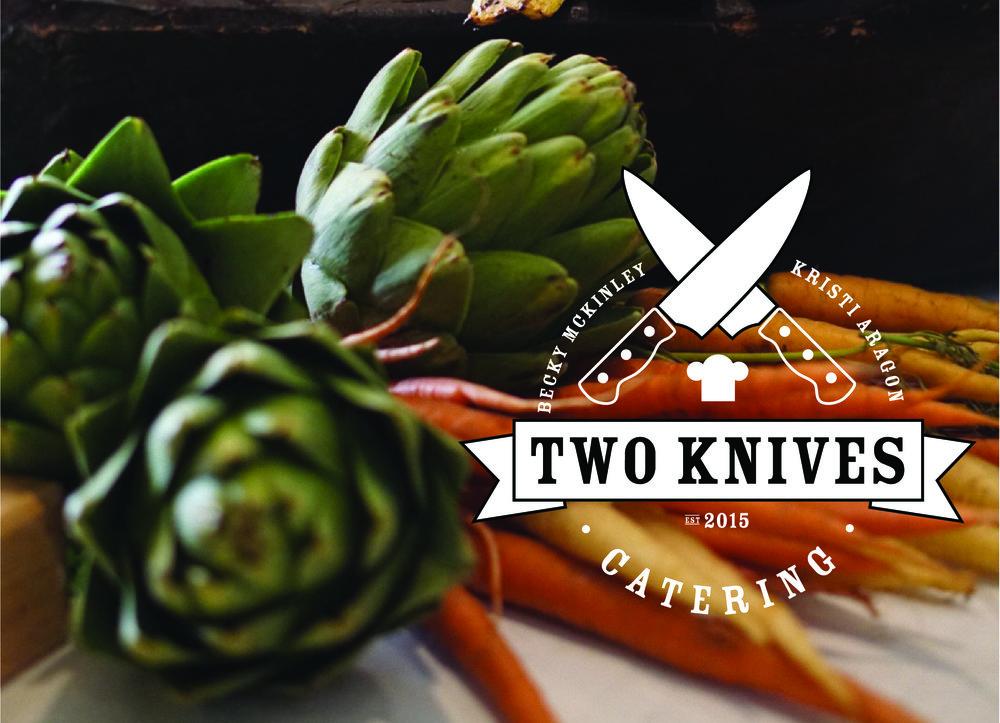 TWO KNIVES CATERING |  BRANDING, WEBSITE DESIGN + DEVELOPMENT, SOCIAL STYLING, EMAIL MARKETING