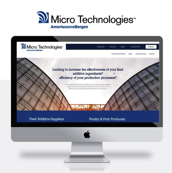 MICRO TECHNOLOGIES, AMERISOURCEBERGEN  | WEBSITE DESIGN + DEVELOPMENT, BRAND STORY DEVELOPMENT, VIDEOGRAPHY : BRAND + CLIENT SHOWCASE