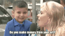 """Image description: Still of viral gif of boy saying """"no and crying"""" to news anchor."""