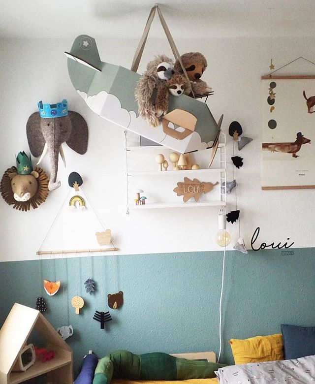 • so pretty • another beautiful kidsroom by @alltagswahnsinnhoch_3 😍!