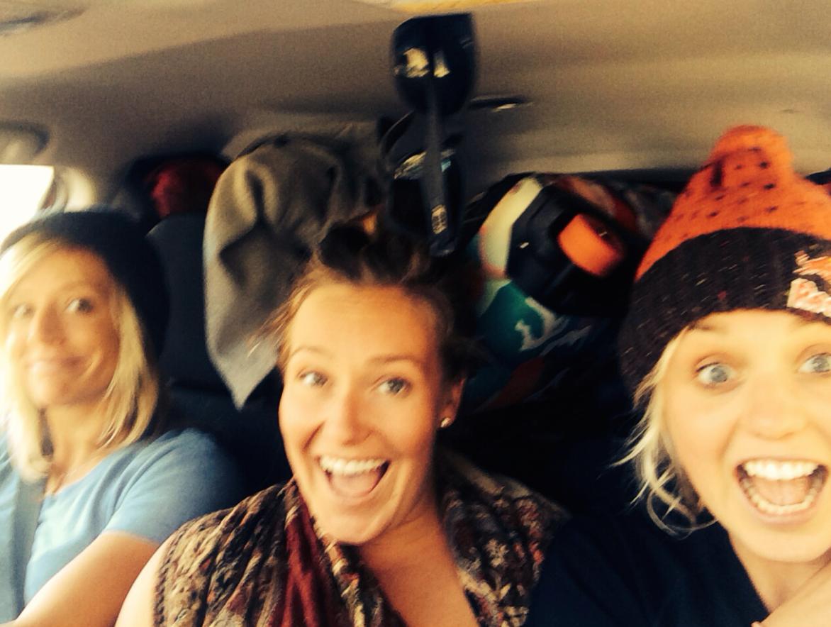 Motley crew. Jenny, Jamie, Aimee