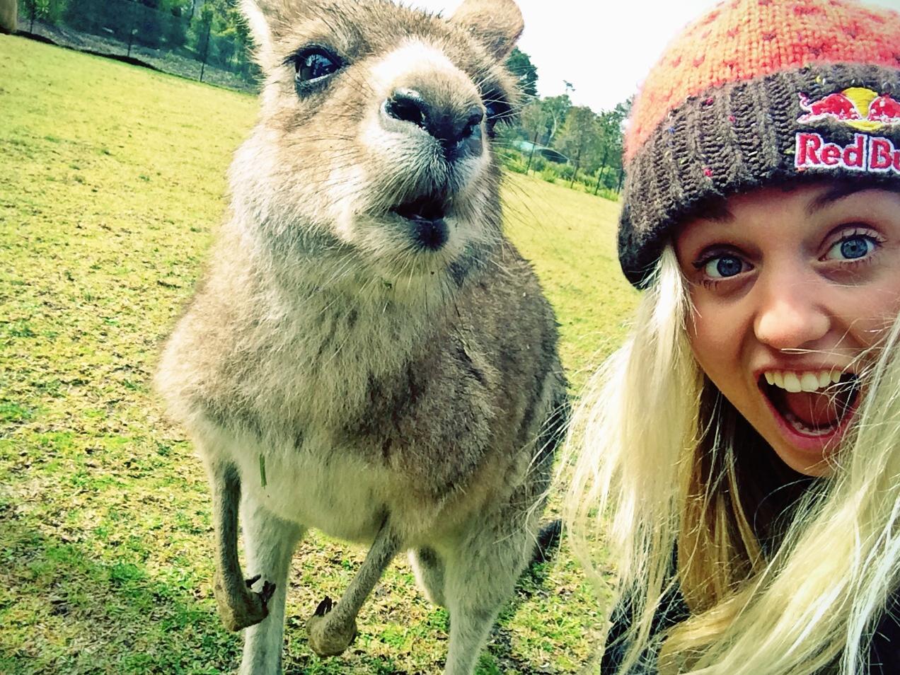 My Australian mate.