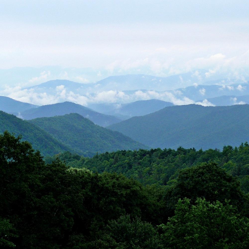 The east-coast's Appalachian mountains