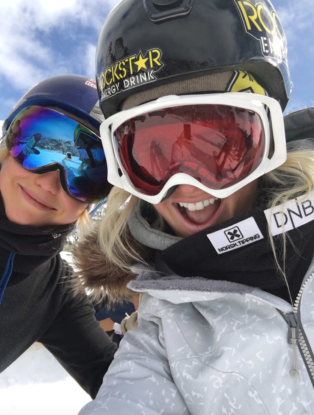 Shred buddy Silje Norendal.