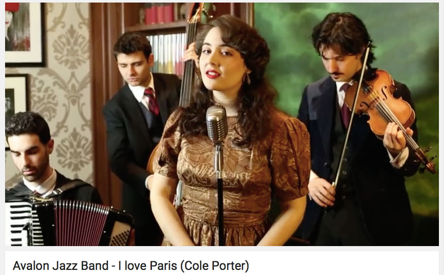 i love paris avalon jazz band