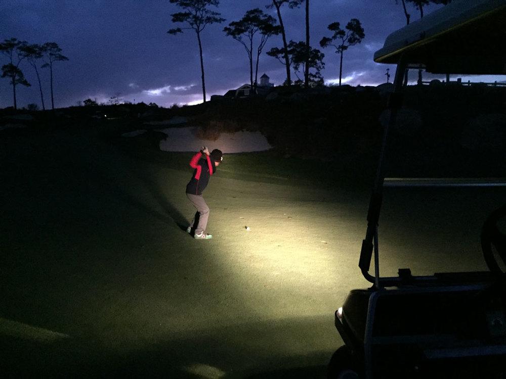 author camden leigh loves golf