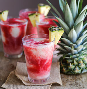 The Chic Site - Lava Flow Recipe