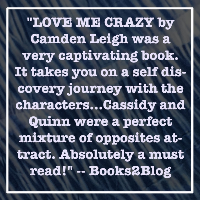 love me crazy camden leigh contemporary new adult romance author