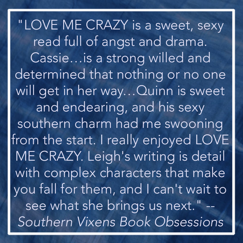 camden leigh contemporary romance author new adult love me crazy