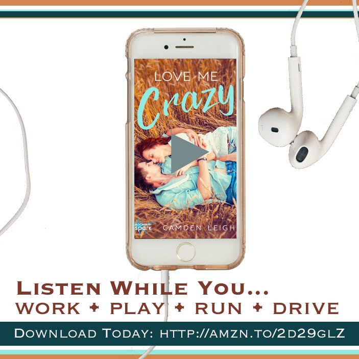 love me crazy audible audiobook listen camden leigh new adult contemporary southern romance