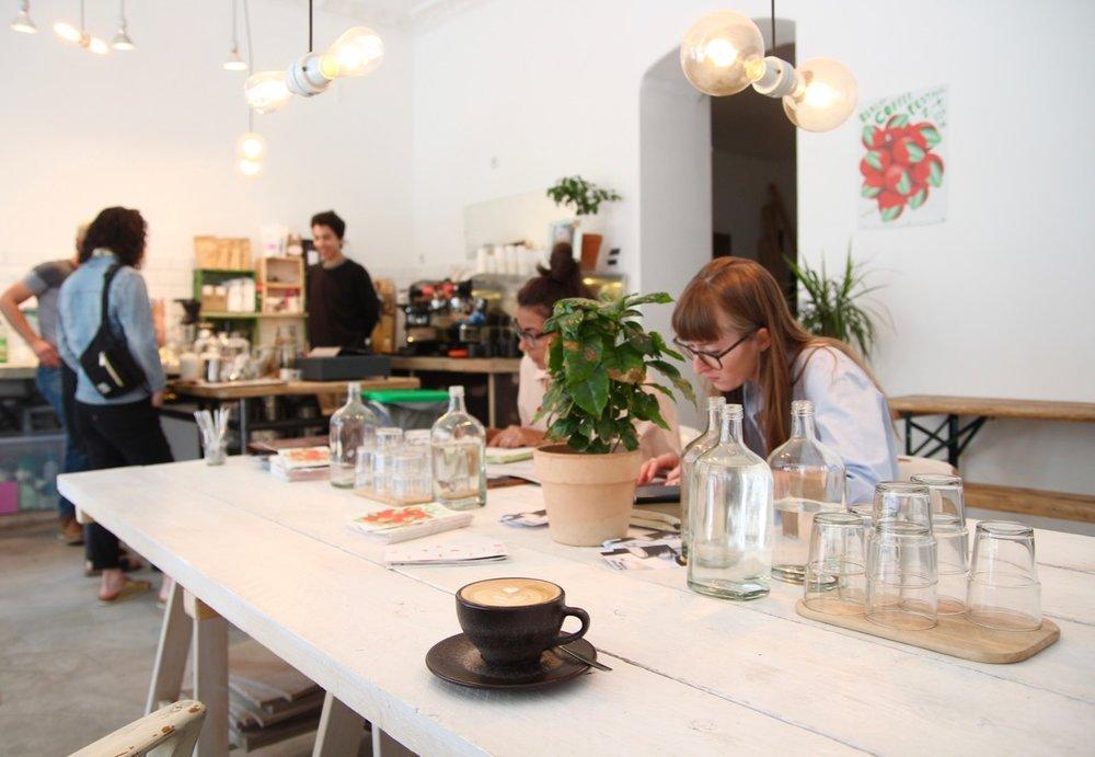 Isla Coffee Berlin: Praising the imperfection.