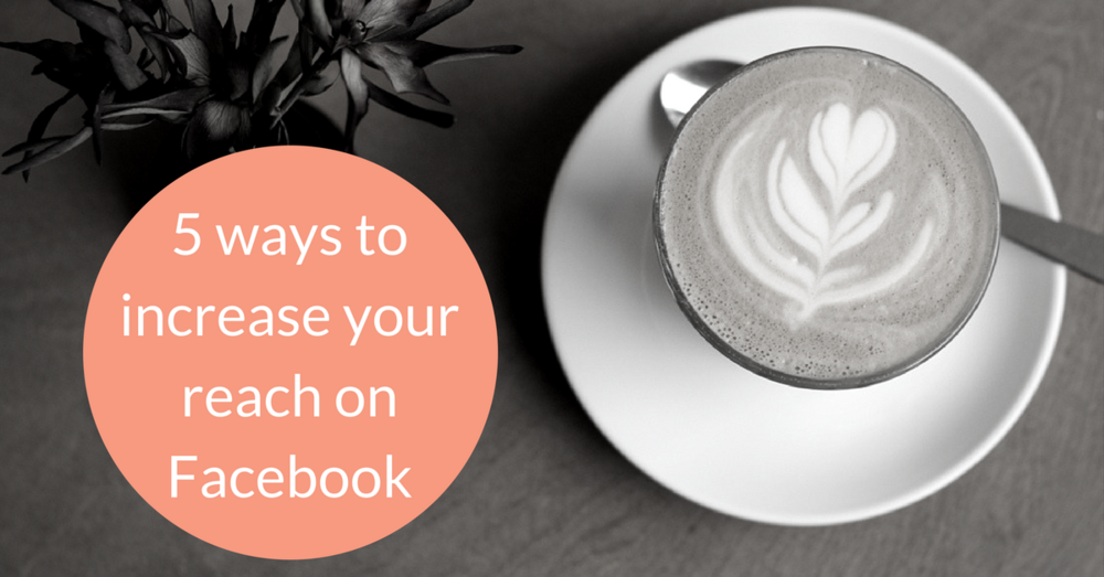 How can you increase your reach on Facebook with your coffee business? There's more to this than doing Latte Art posts...