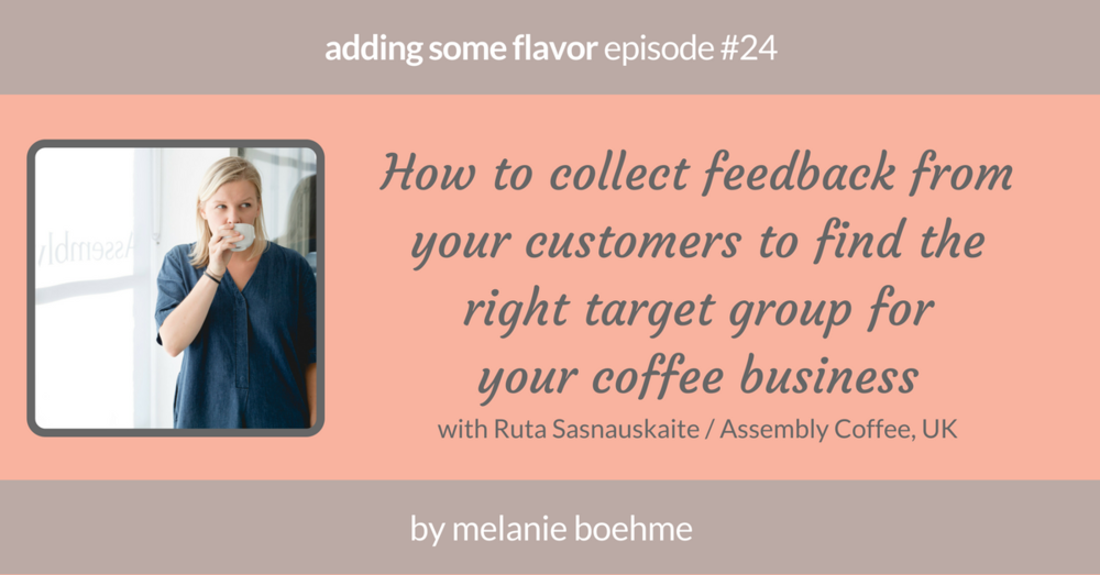 adding some flavor episode number 24 with Ruta of Assembly Coffee, UK.