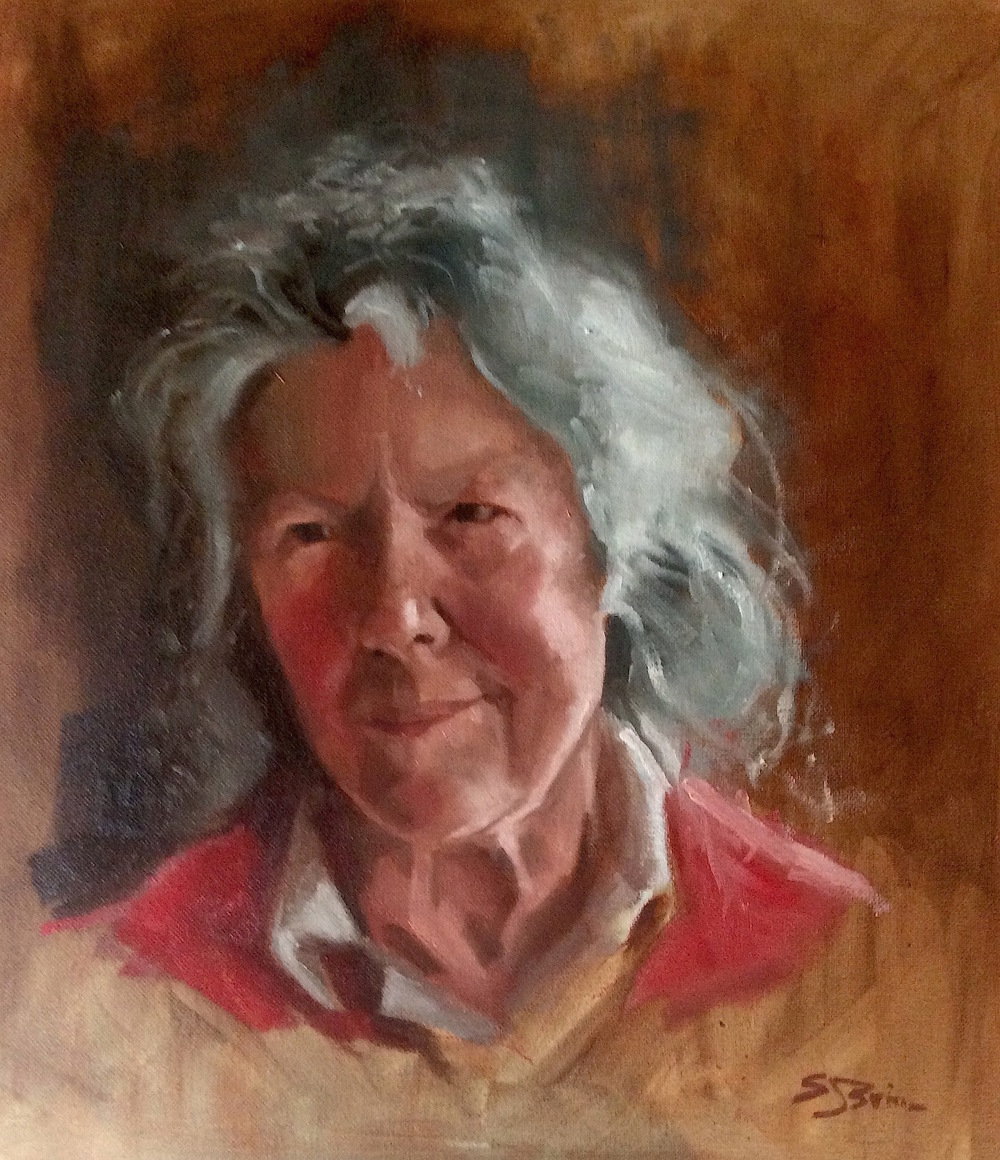 Ruth Oil on board