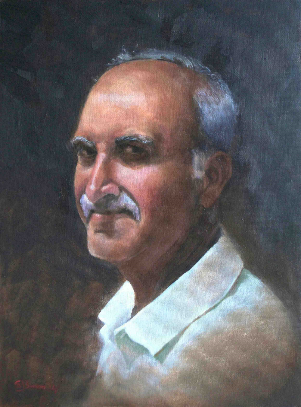 Ravi Oil on canvas