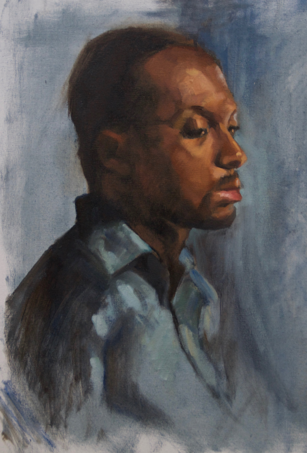 Young Man Oil on Linen